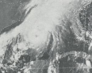 uragano eloise golfo del messico settembre 1975