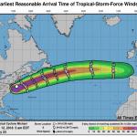 L'ex uragano Michael adesso si muove verso l'Europa: porterà venti e piogge impetuose all'inizio della prossima settimana [MAPPE]