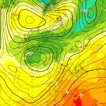 """Allerta Meteo, ecco il Ciclone che """"spacca"""" l'Italia: freddo e neve al Nord, caldo scirocco, temporali e grandine al Sud"""
