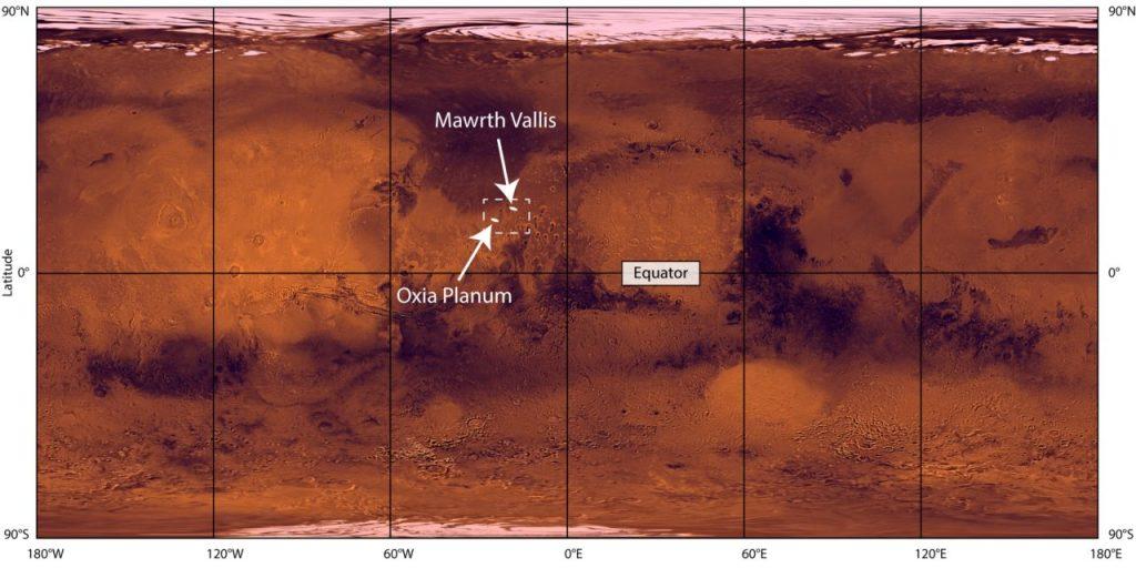 Oxia Planum Marte ExoMars