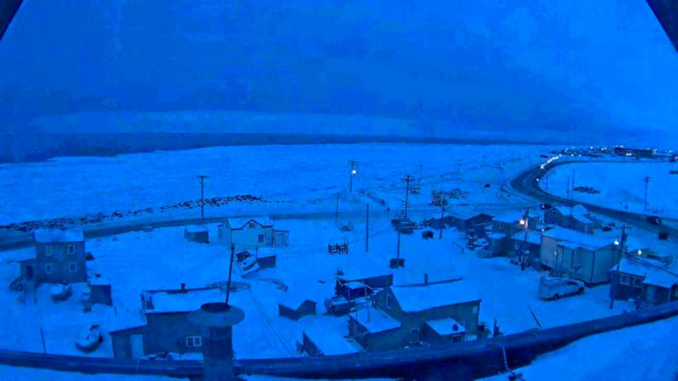 Utqiagvik notte polare alaska