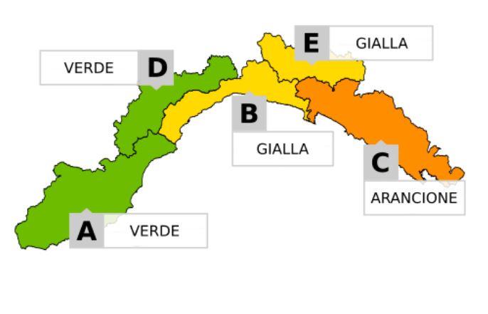 allerta meteo Liguria 23 24 novembre 20187