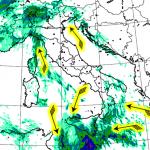 Allerta Meteo, weekend di forte maltempo al Nord e all'estremo Sud: forti temporali in Sicilia, nubifragi in Liguria e piogge in Lombardia [MAPPE]