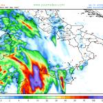 Allerta Meteo, FOCUS sulle piogge torrenziali del weekend: attenzione al Sud e sulle Isole maggiori [MAPPE]