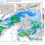 Allerta Meteo, weekend di forte maltempo sull'Italia: FOCUS sul Nord/Est, 150-200mm di pioggia in 48 ore aumentano il rischio alluvioni [MAPPE]
