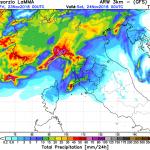 Allerta Meteo, FOCUS sul maltempo innescato dallo scirocco: rischio alluvioni e tornado al Centro/Nord [MAPPE e DETTAGLI]