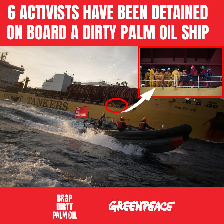 attivisti Greenpeace