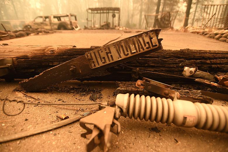 camp fire incendi california