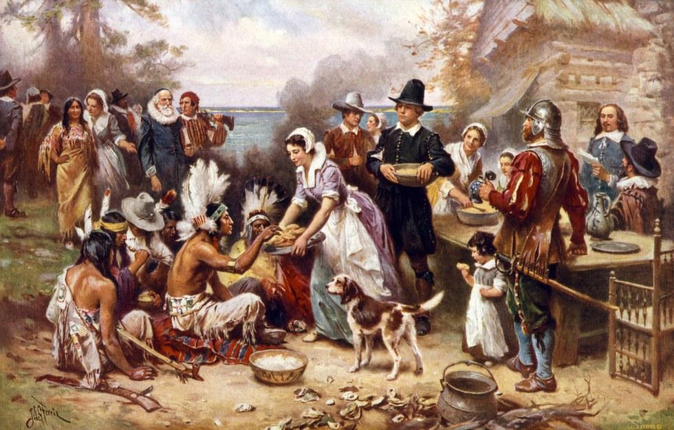 giorno del ringraziamento storia