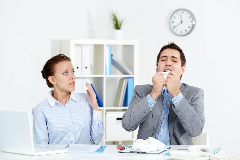 malanni malattie colleghi ufficio
