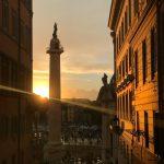 Allerta Meteo Roma: inizio settimana di piogge e temporali dopo una Domenica autunnale con un tramonto incantevole [FOTO]