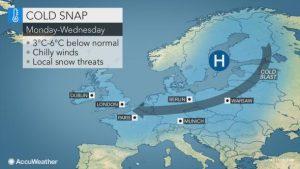 neve freddo europa