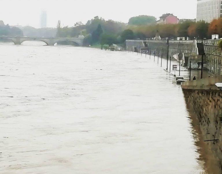 La piena del fiume Po
