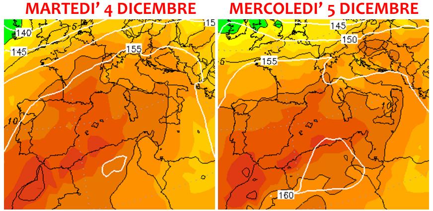 previsioni meteo dicembre 2018