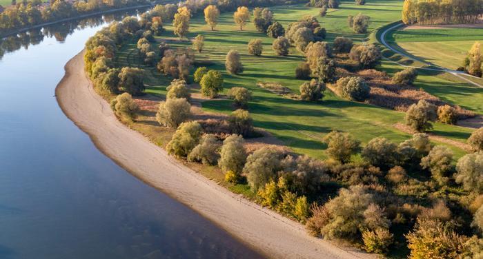 siccità germania fiume danubio