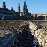Drammatica siccità mette in ginocchio la Germania: Danubio e Reno restano senz'acqua, nel Lago di Costanza nasce una nuova isola [FOTO]
