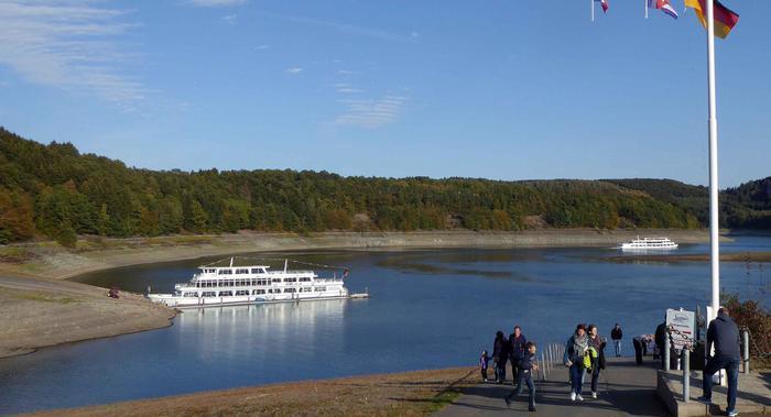 siccità germania lago biggesee