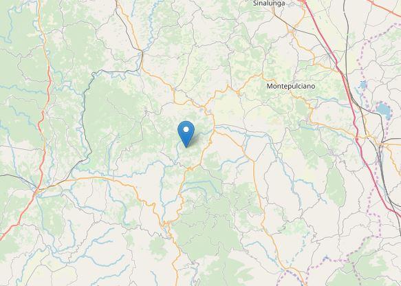 terremoto Castiglione d'Orcia Siena