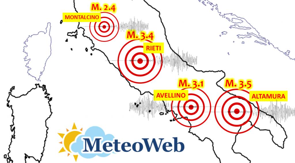 terremoto italia scosse centro