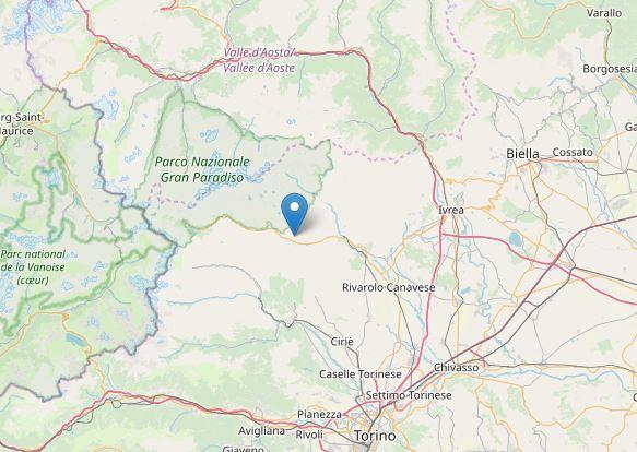 terremoto piemonte torino locana