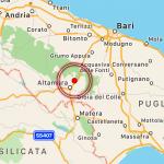 Terremoto Bari, paura in Puglia: scossa magnitudo 3.5 sulle Murge, epicentro ad Altamura [MAPPE e DATI]