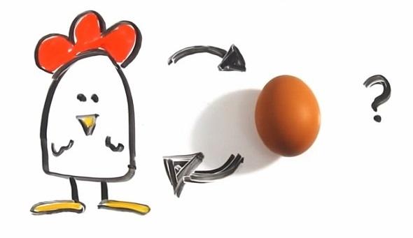 uovo oggi gallina domani