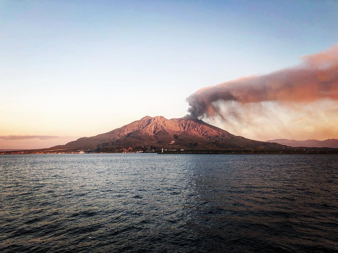 vulcano Giappone Sakurajima