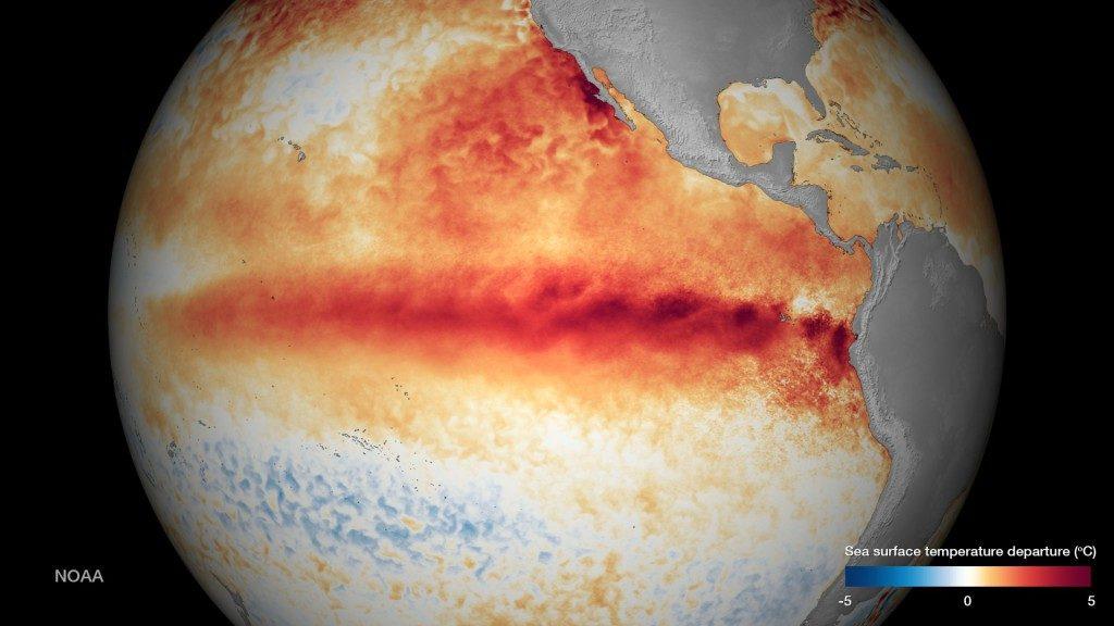 El Niño riscaldamento globale