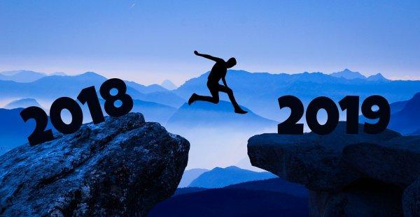 Felice Anno Nuovo Auguri Buon Capodanno 2019 immagini gif