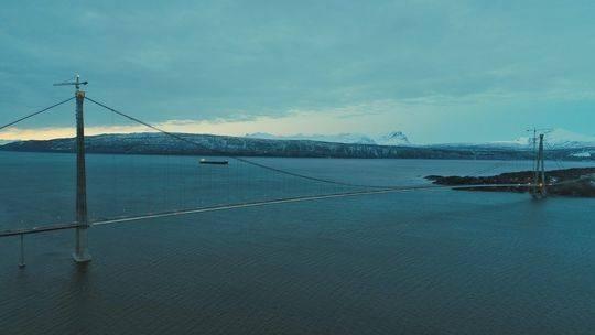Hålogaland Bridge norvegia