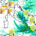 Allerta Meteo, fine 2018 con l'Italia capovolta: verso Capodanno con maltempo, freddo e neve al Sud mentre il foehn porta super caldo fino a +22°C al Nord [MAPPE]