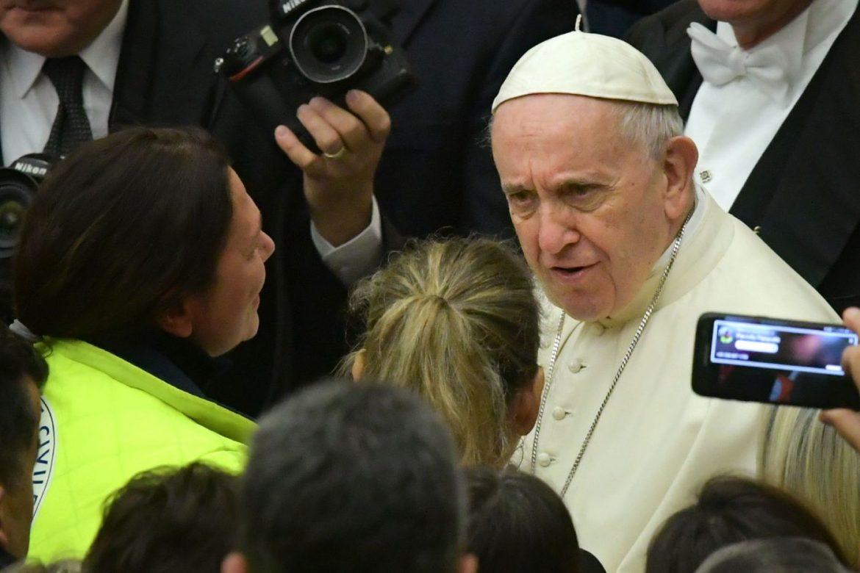 Papa Francesco Protezione civile