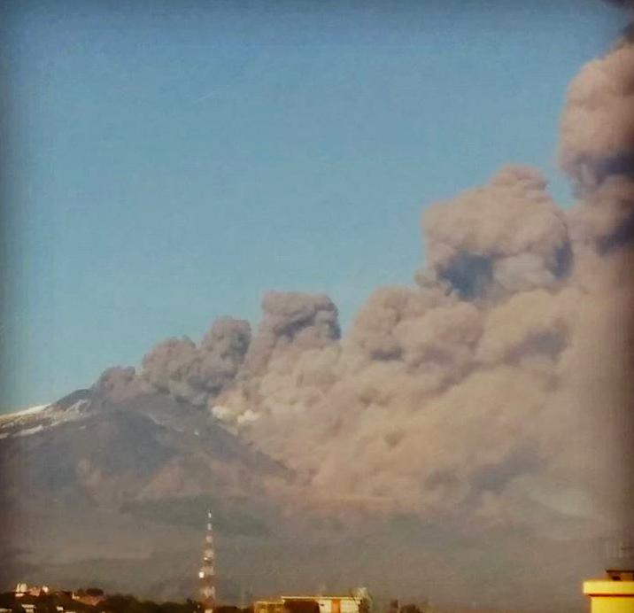 etna eruzione 24 dicembre 2018