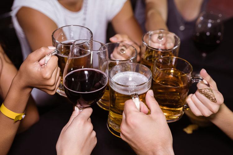 alcol freddo salute