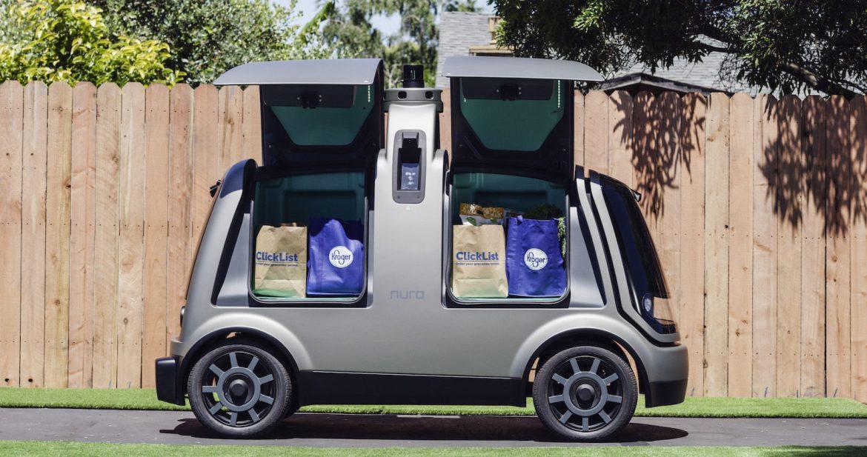 auto autonome consegna spesa