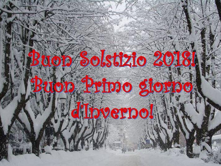 21 dicembre buon solstizio 2018 e buon primo giorno d for Frasi su dicembre
