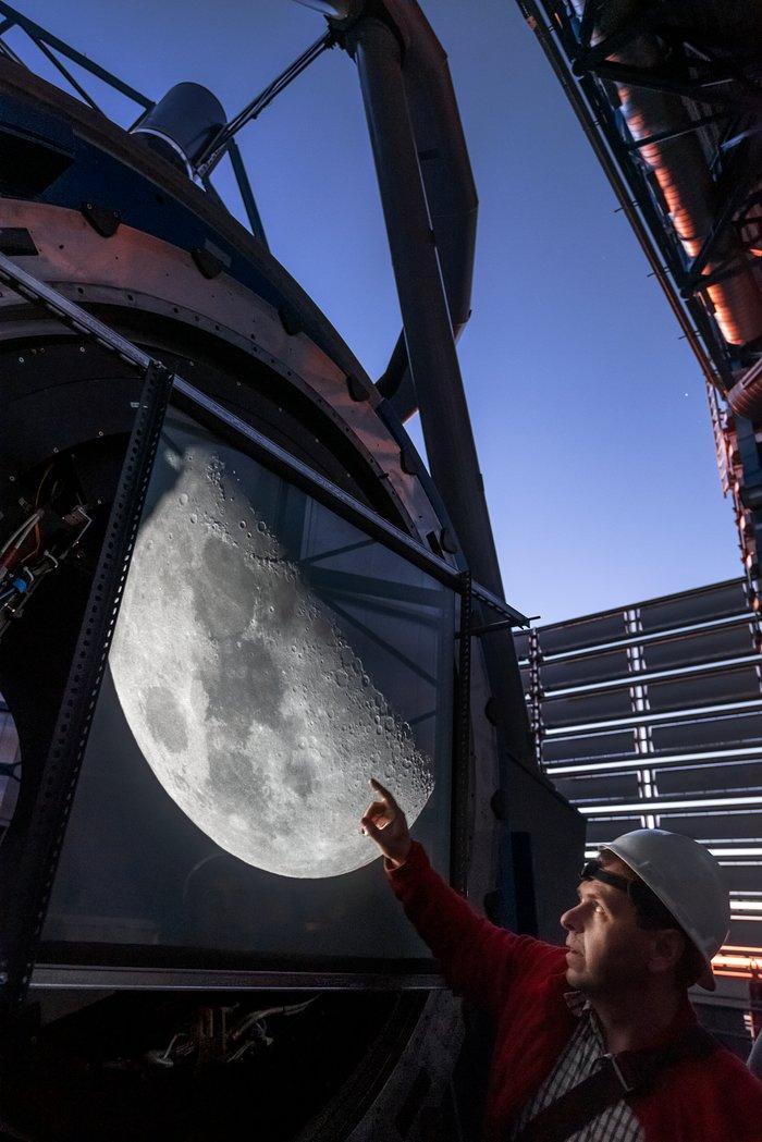 luna ESO