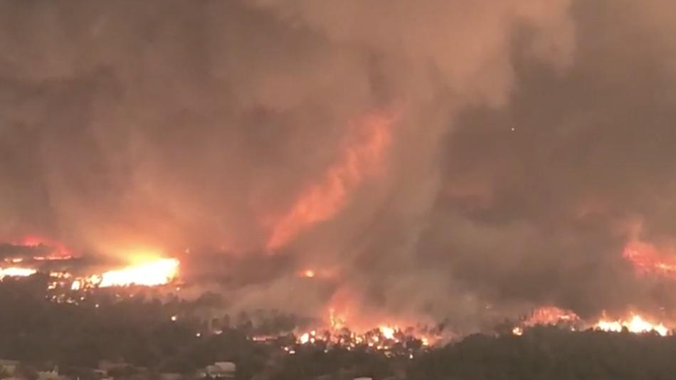 firetornado california