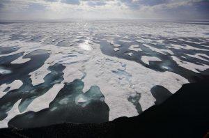 ghiaccio artico riscaldamento globale