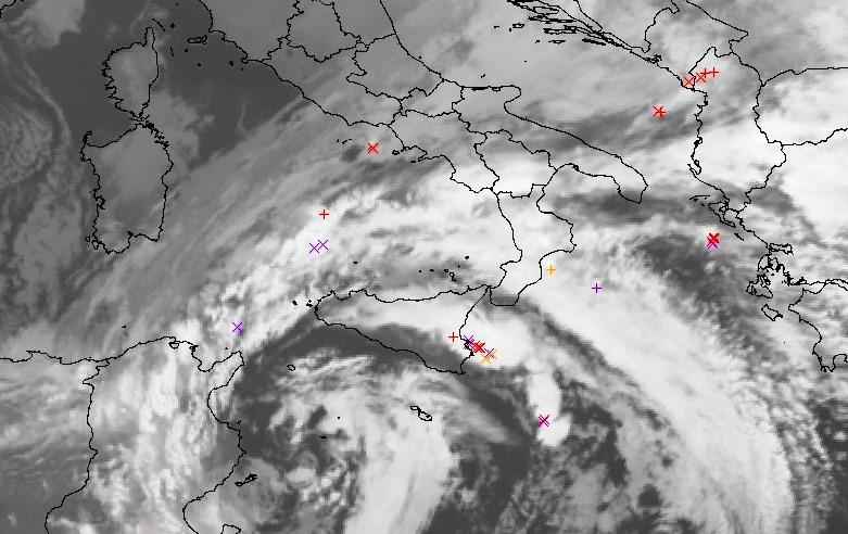 maltempo italia ciclone sud 14 dicembre 2018