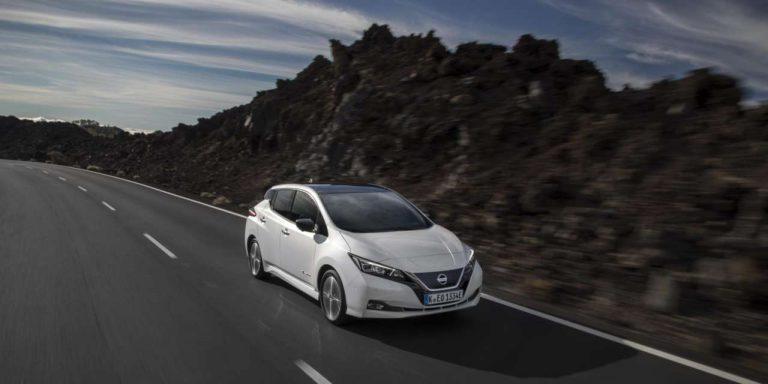 Nissan Leaf, a partire da € 35.671