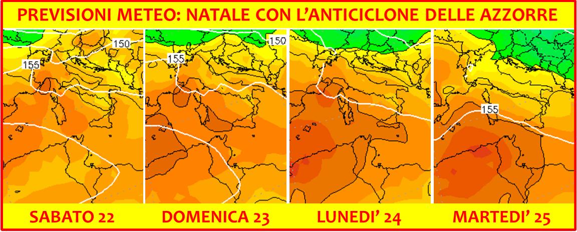 previsioni meteo natale 2018 temperature