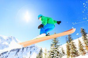 sci neve montagna