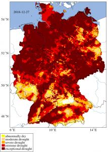 siccità germania 2018