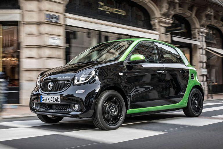 Smart Forfour EV, a partire da € 24.600