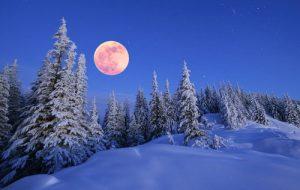 solstizio inverno luna fredda