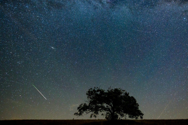 stelle cadenti solstizio inverno