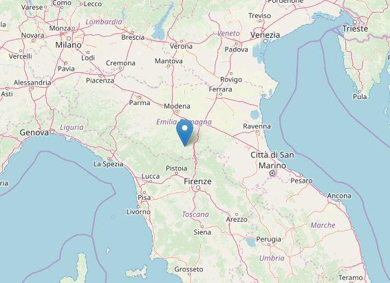 terremoto Bologna Castel d'Aiano