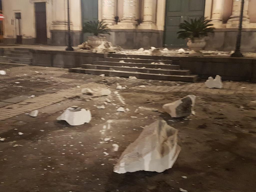 terremoto etna catania