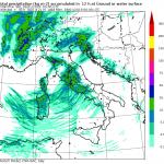Previsioni Meteo, arriva un'altra perturbazione Atlantica: sarà una Domenica di maltempo al Centro/Nord e libeccio al Sud [MAPPE]